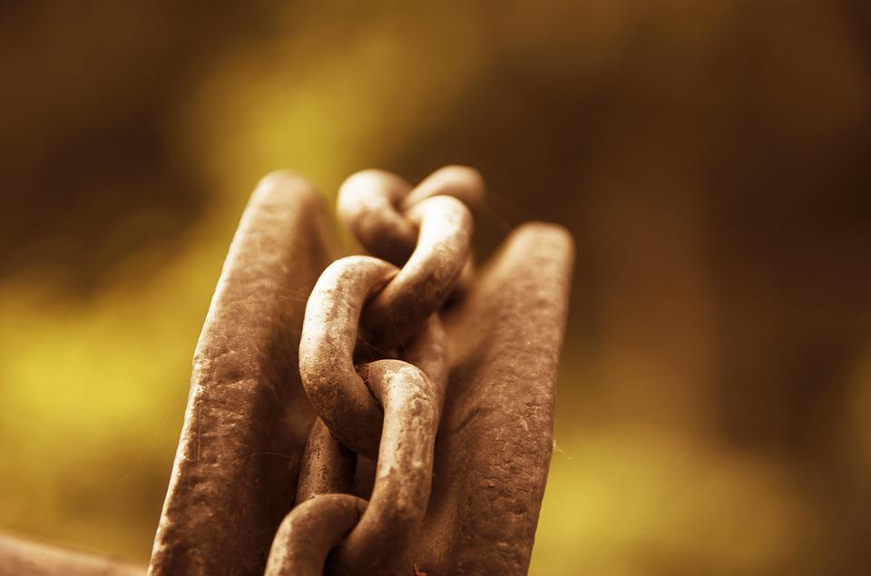 Chain, Iron, Metal, Rust, Chain Link, Connection
