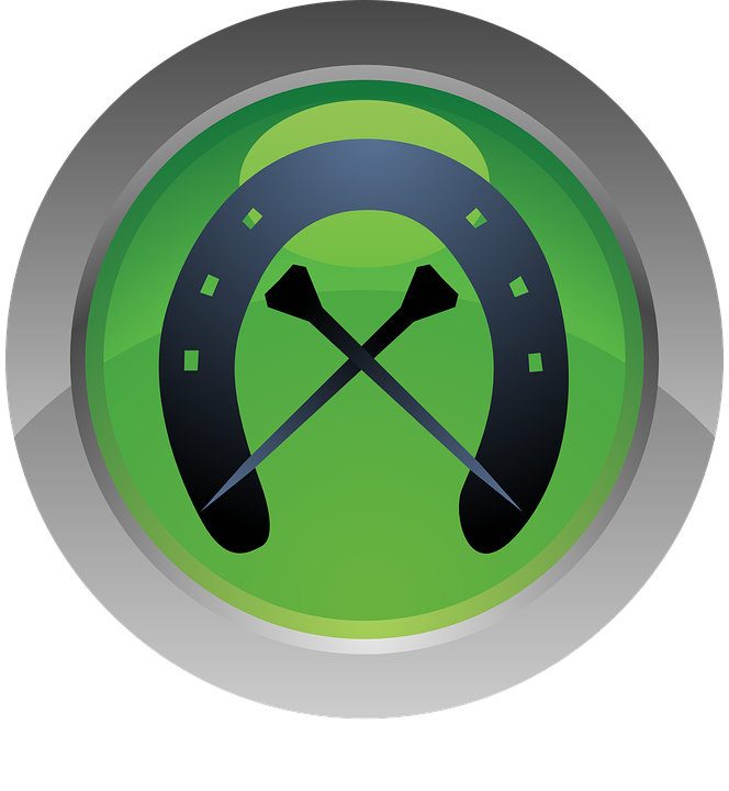 Icon, Farriery, Horse, Green, Iron, Nail, Sport