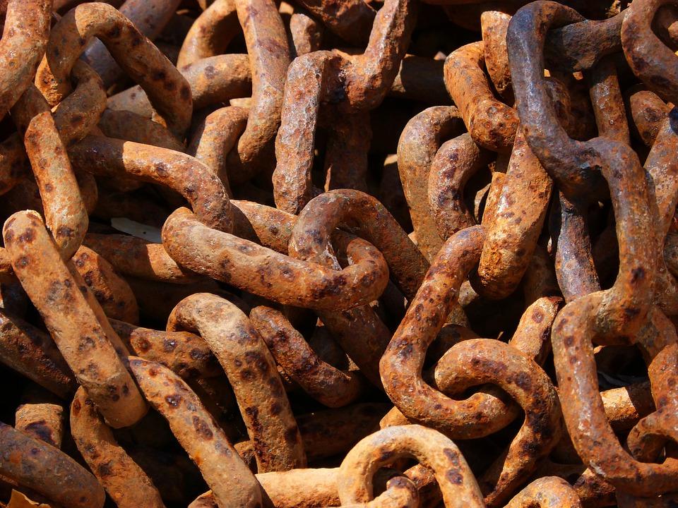 String, Links, Rusty, Iron, Link
