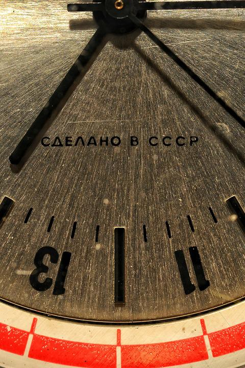 Watch, Russia, Cccp, Iron, Texture, Aluminum, Time