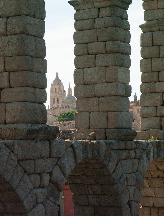 Spain, Segovia, Aqueduct, Irrigation, Romans