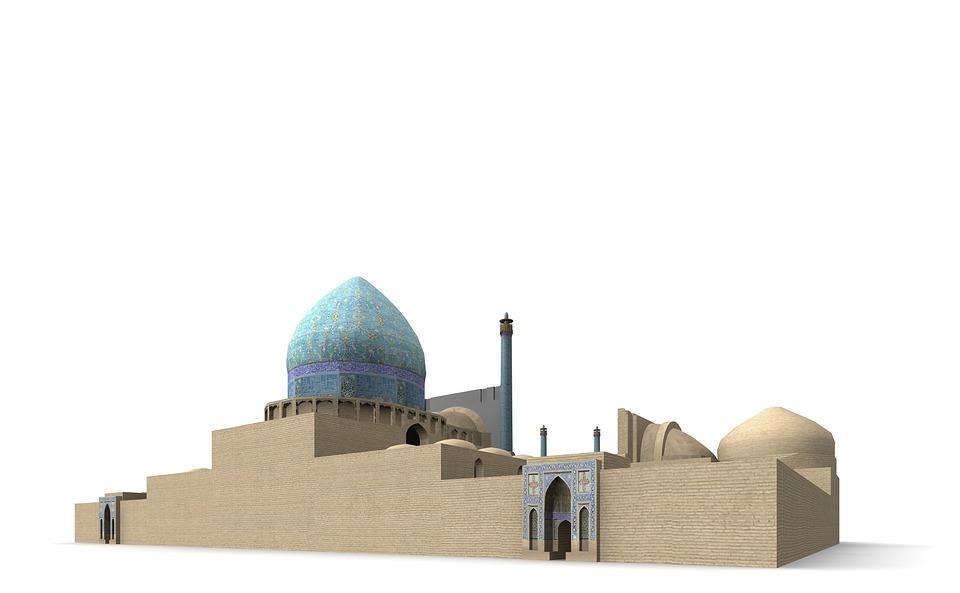 King Mosque, Isfahan, Iran, Building