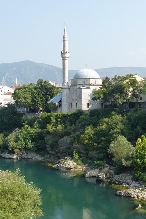 Mostar, Mosque, Bosnia And Herzegovina, Islam, Bosnia
