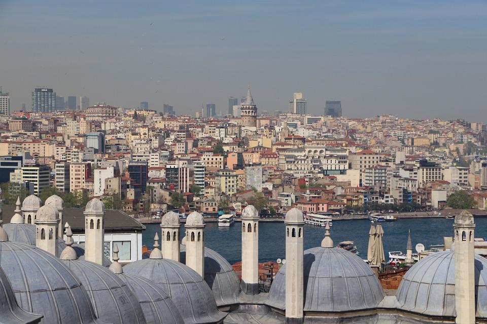Cami, Dome, Galata, Süleymaniye, Islam, Istanbul