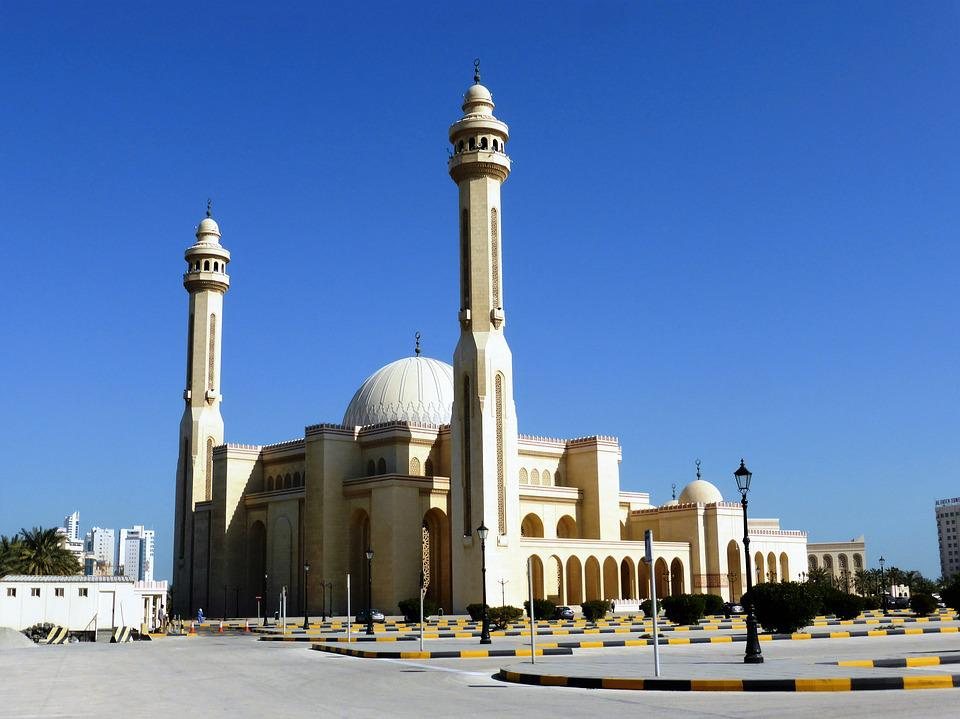 Mosque, Islam, Faith, Minaret, Bahrain
