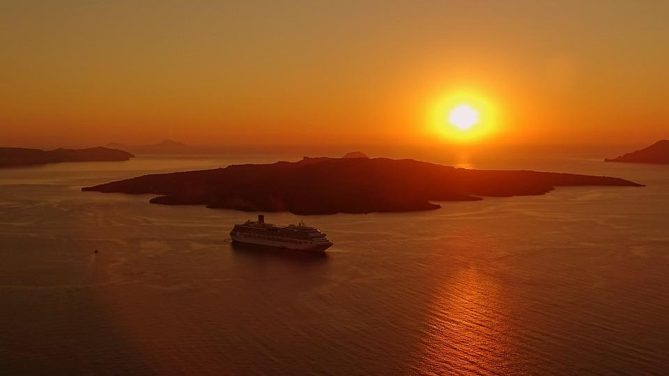 Greece, Santorini, Architecture, Island, Outlook, Old