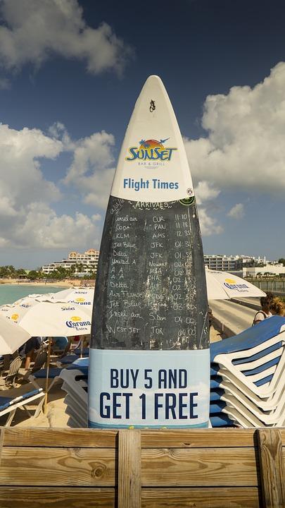St Maarten, Beach, Holiday, Travel, Island