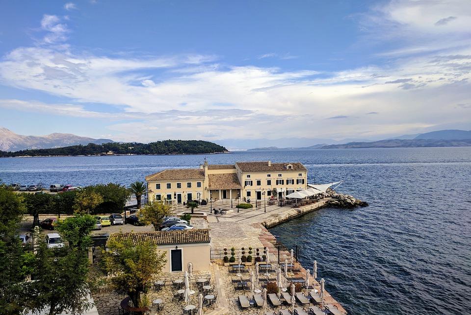 Corfu, Island, Greece, Mediterranean, Coast, Ionian