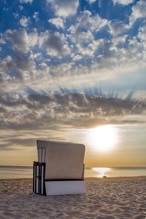 Beach Chair, Heringsdorf, Island, Usedom