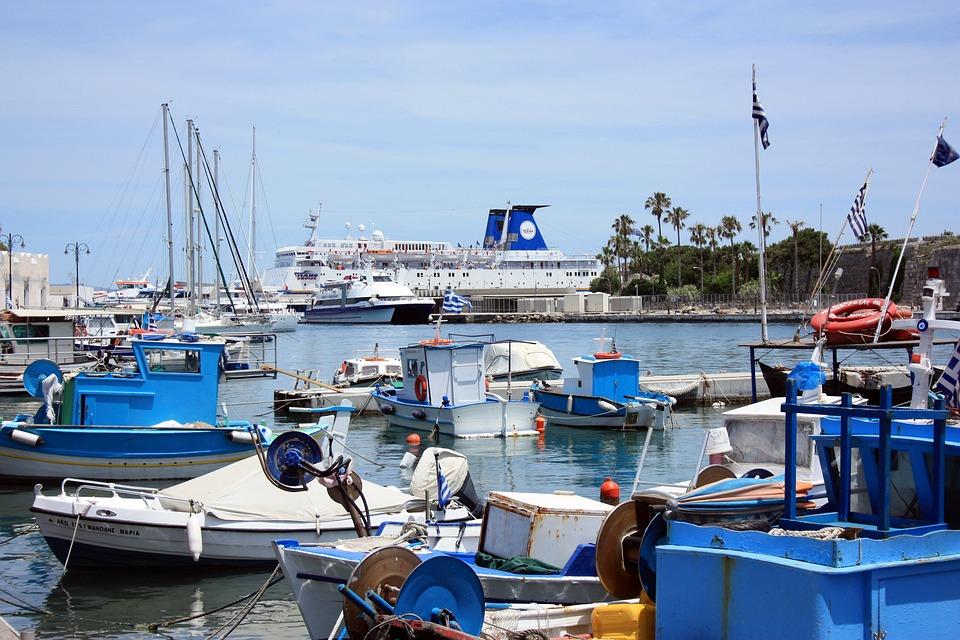 Greece, Greek, Kos, Island, Mediterranean, Tourism