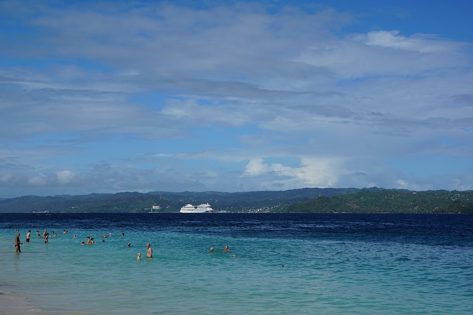 Levantado, Island, Caribbean, Sea, Beach