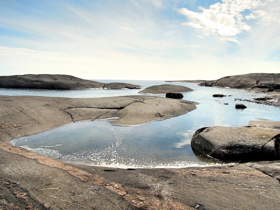 Söderskär, Lighthouse Island, Island, Water, Sea