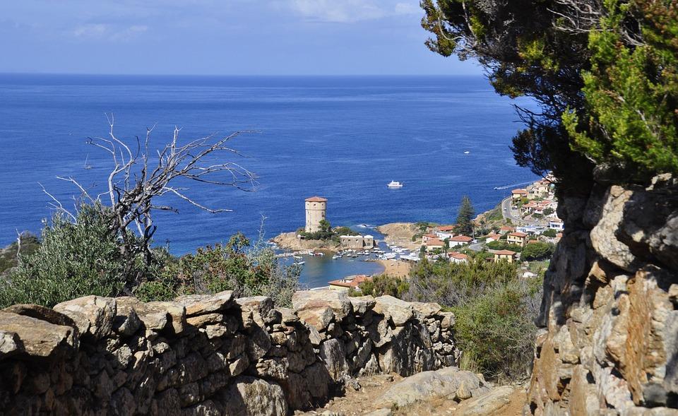 Tuscany, Island Lily, Sea, Nature, Landscape, Italy
