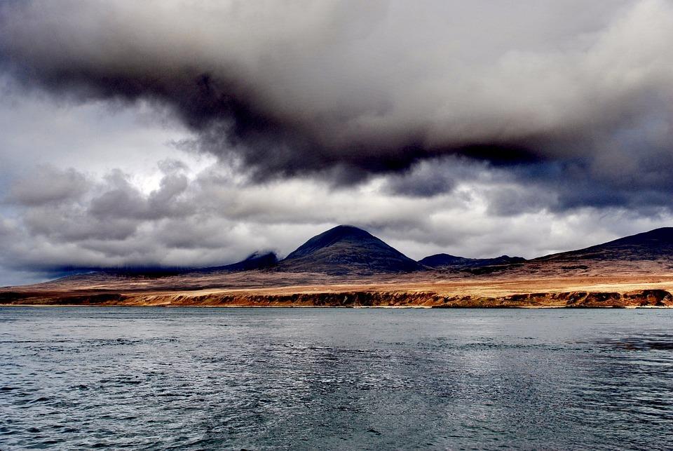 Hill, Mountain, Scotland, Jura, Island, Water, Europe