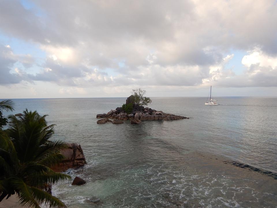 Seychelles, Praslin, Nature, Tropical, Island, Ocean