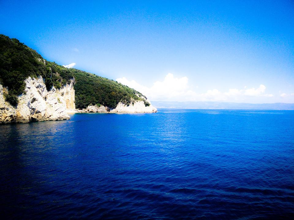 Sea, Cres, Island Of Cres, Croatia