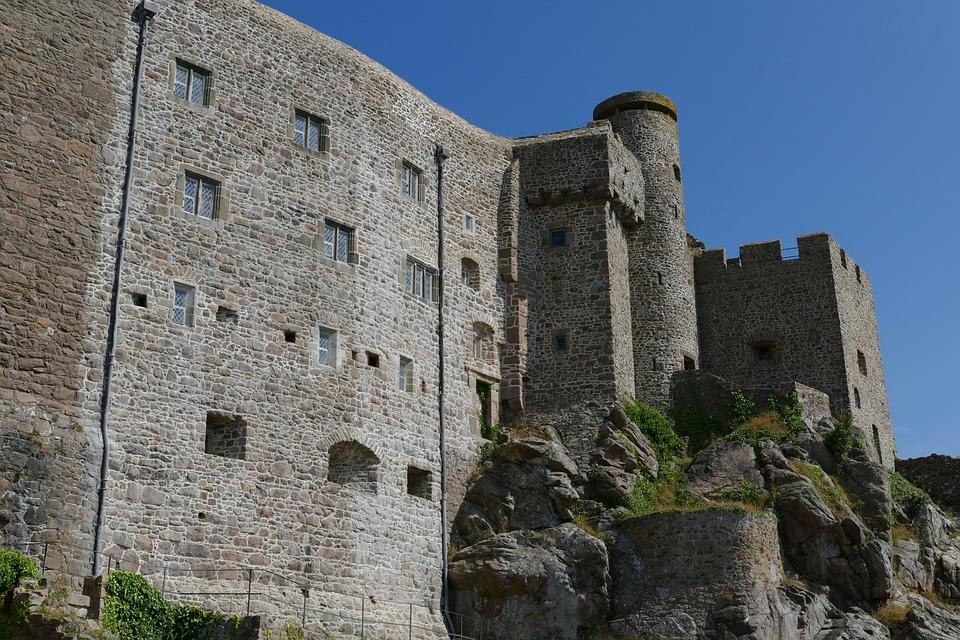 Jersey, Castle, Orgueil, Port, Island Of Jersey, Gorey