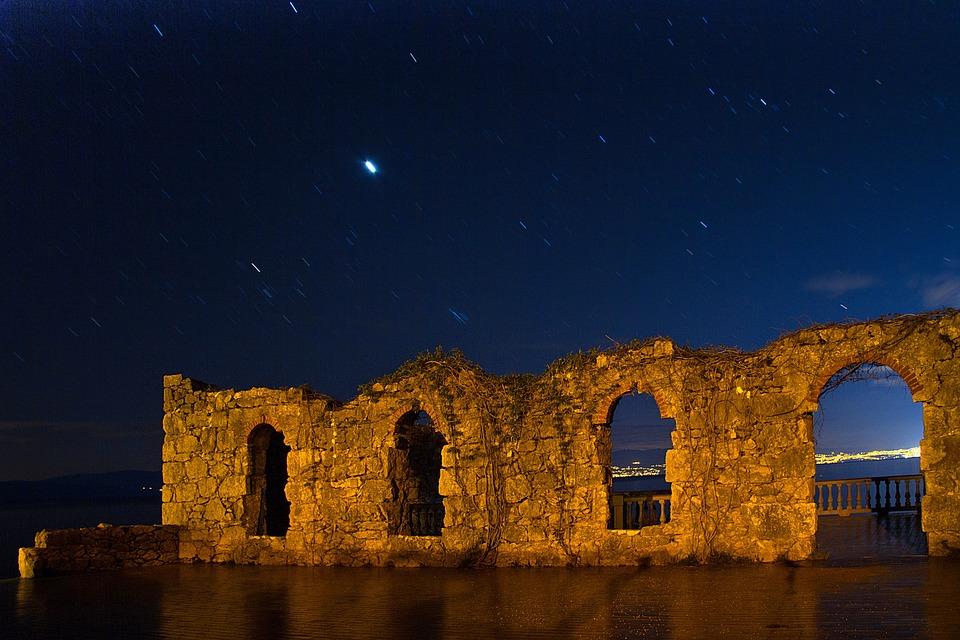 Croatia, Blue Hour, Island Of Krk, Island, Istria