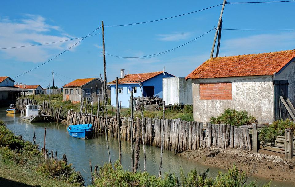 Island Of Oleron, Oléron, France, House, Fisherman