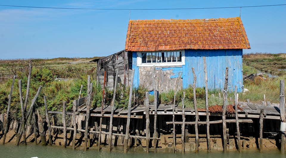House, Fisherman, Island Of Oleron, Oléron, France