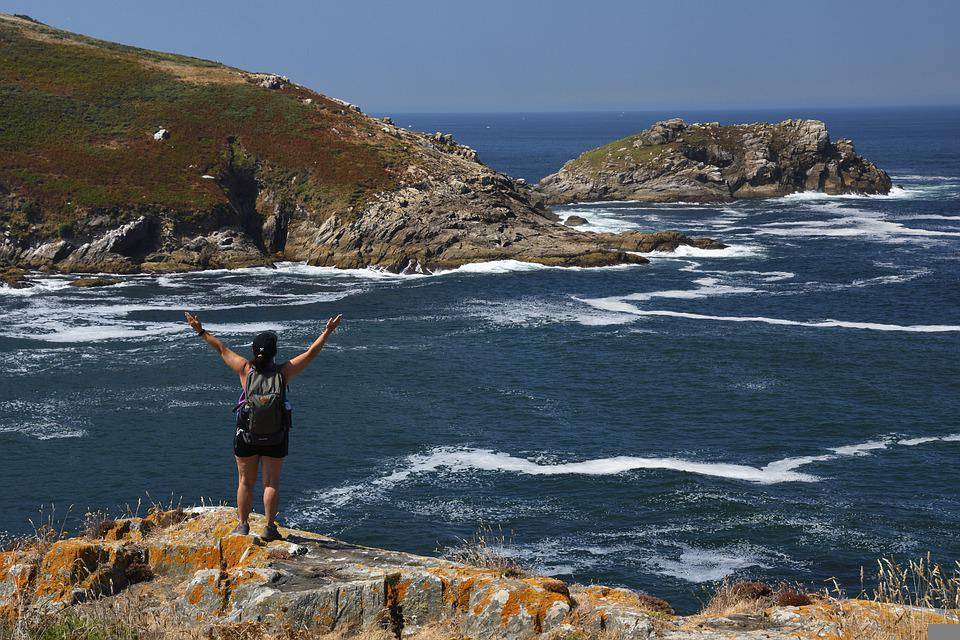 Galicia, Ons, Atlantic, Sea, Lighthouse, Island, Nature