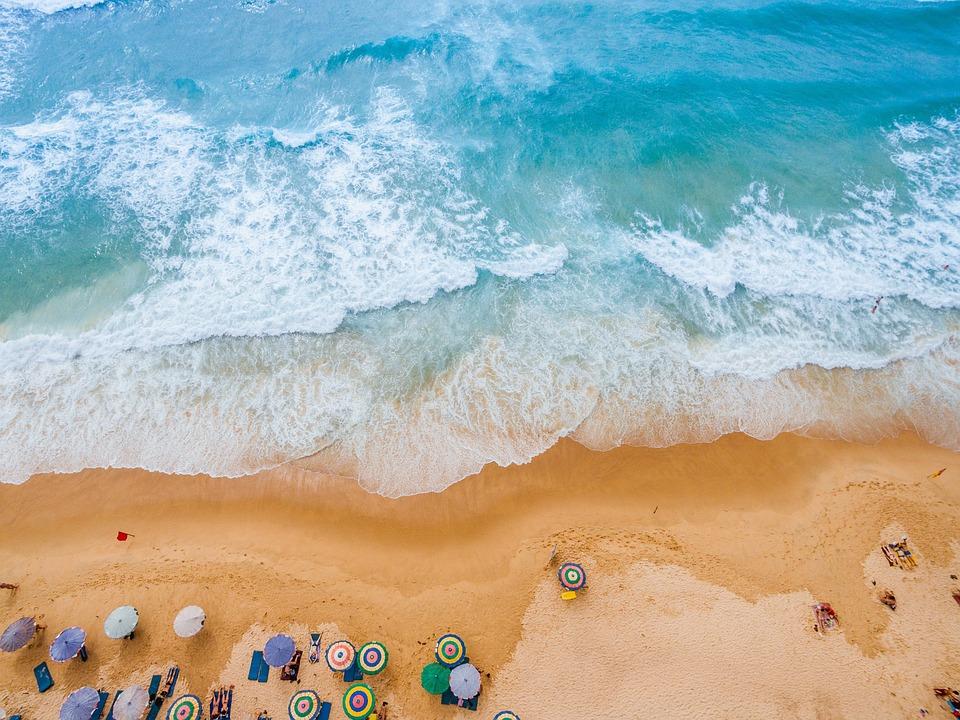 Beach, Thailand, Island, Phuket, Sea, Water, Landscape