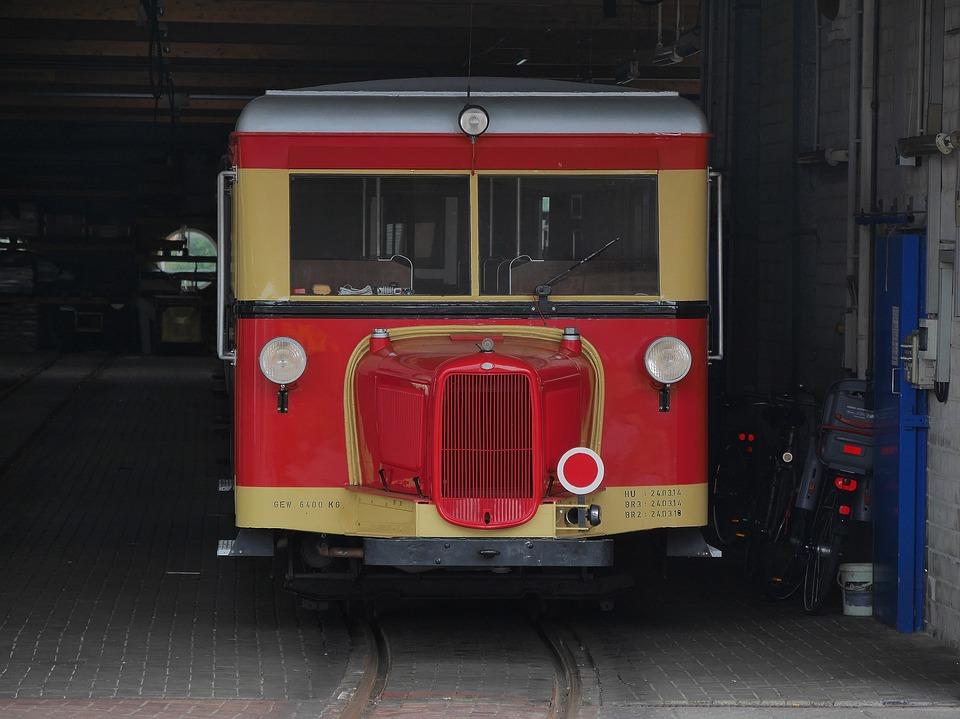 Borkum, Small Ground, Island Railway, Railbus, Railcar