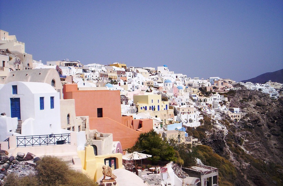 Greece, Santorini, The Coast, Landscapes, Water, Island