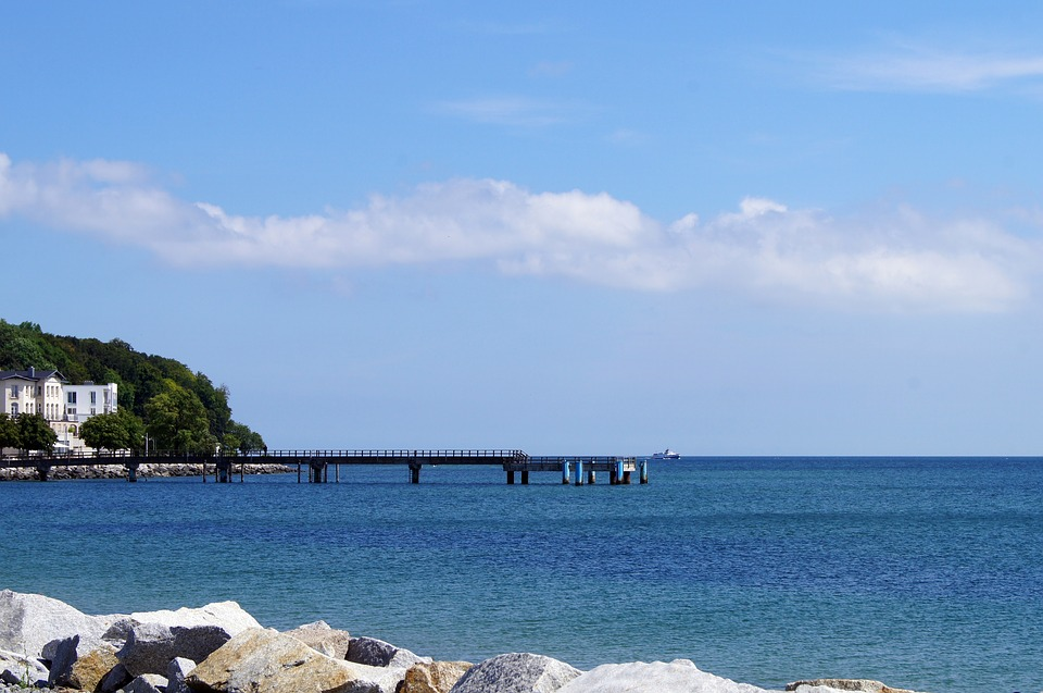 Sassnitz, Rügen Island, Baltic Sea, Recovery, Island