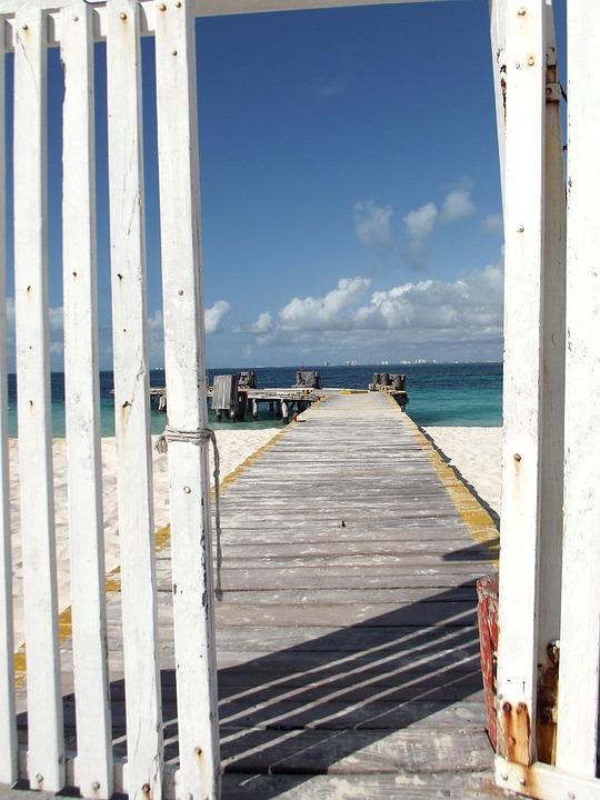 Spring, Sea, Beach, Island, Mexico, Travel, Nature