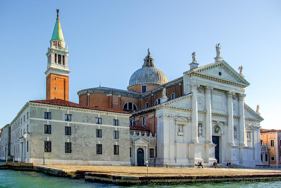 Italy, Venice, Venezia, Church, Island, Giudecca