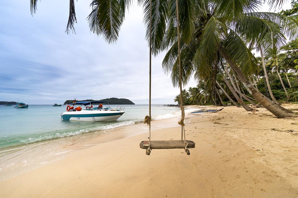 Outdoors, Phuquoc, Island, Vietnam, The Beach, Tropical