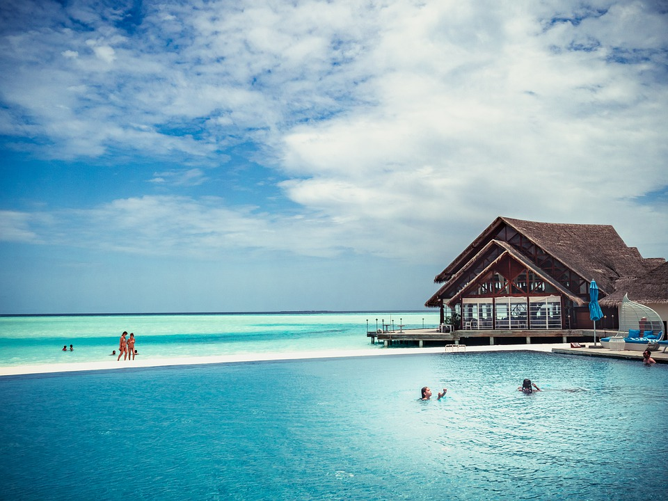 Maldives, Island, Travel, Sea, Summer, Water, Ocean