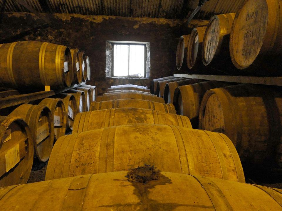 Whisky, Wooden Barrels, Barrels, Stock, Islay, Alcohol