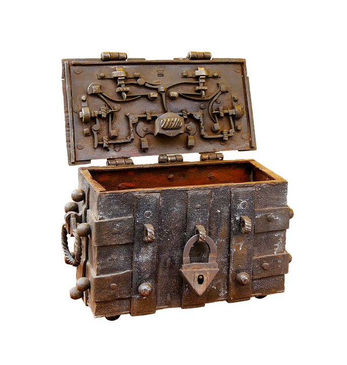 Chest, Png, Isolated, Middle Ages, Antique, Castles