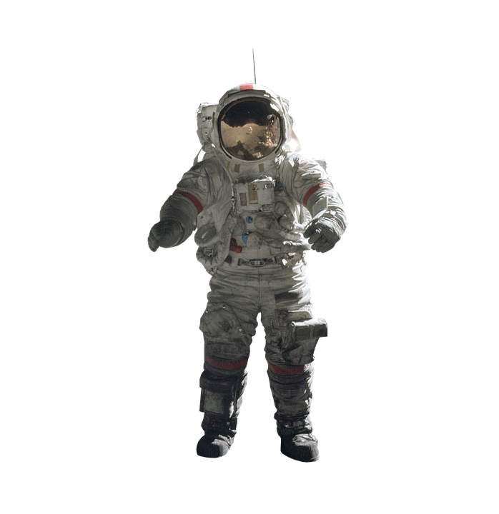 Astronaut, Isolated, Protective Suit, Nasa