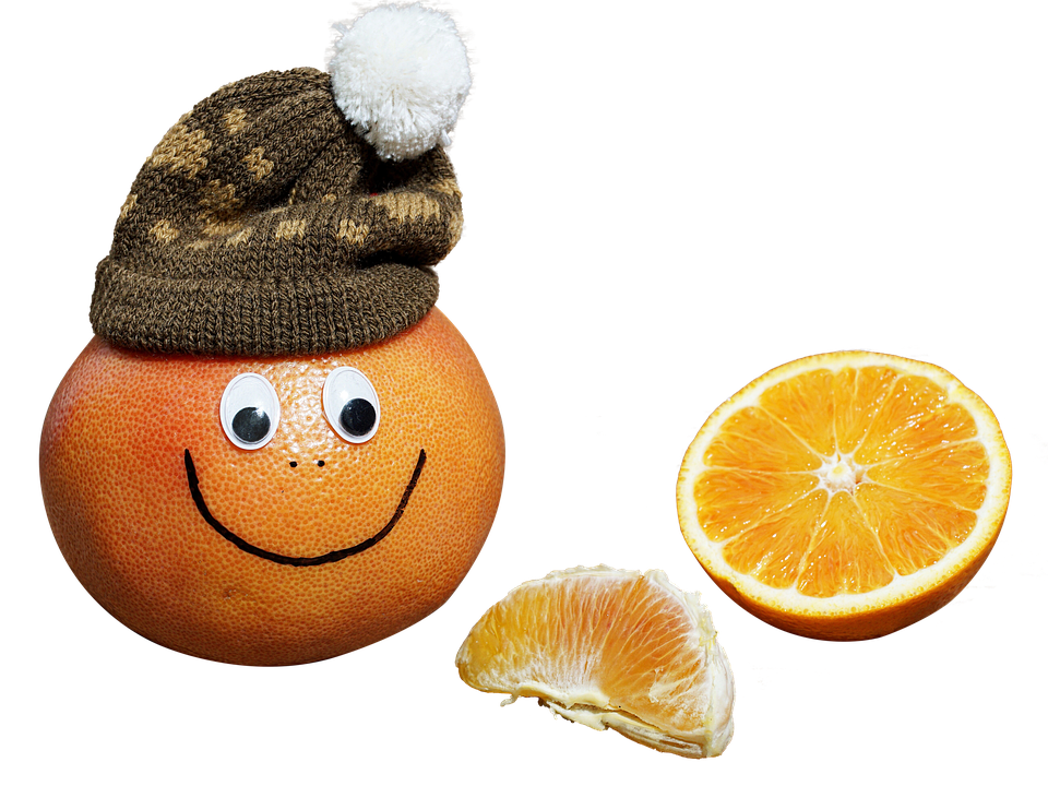 Orange, Hat, Exemption, Isolated, Yellow, Nature