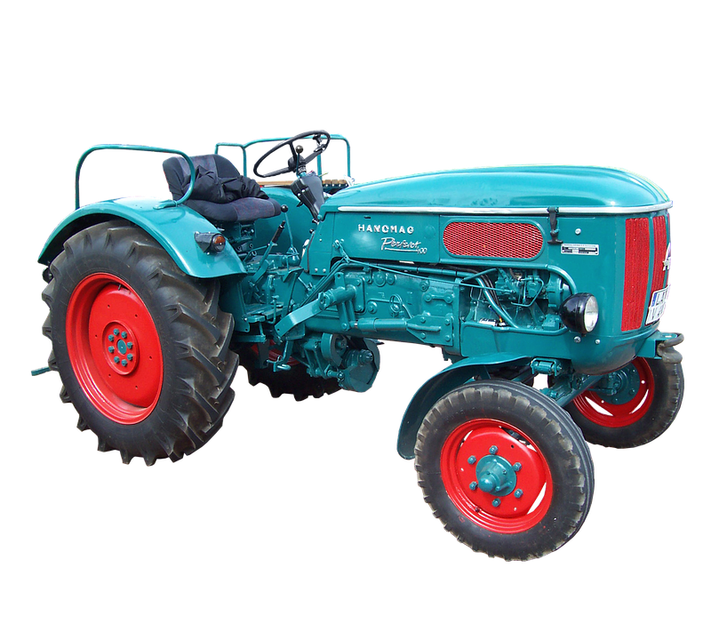 Isolated, Hanomag, Tractors, Tractor