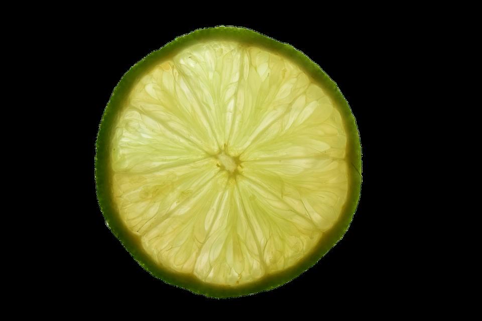 Lemon, Slice Of Lemon, Isolated, Yellow, Sour, Vitamins