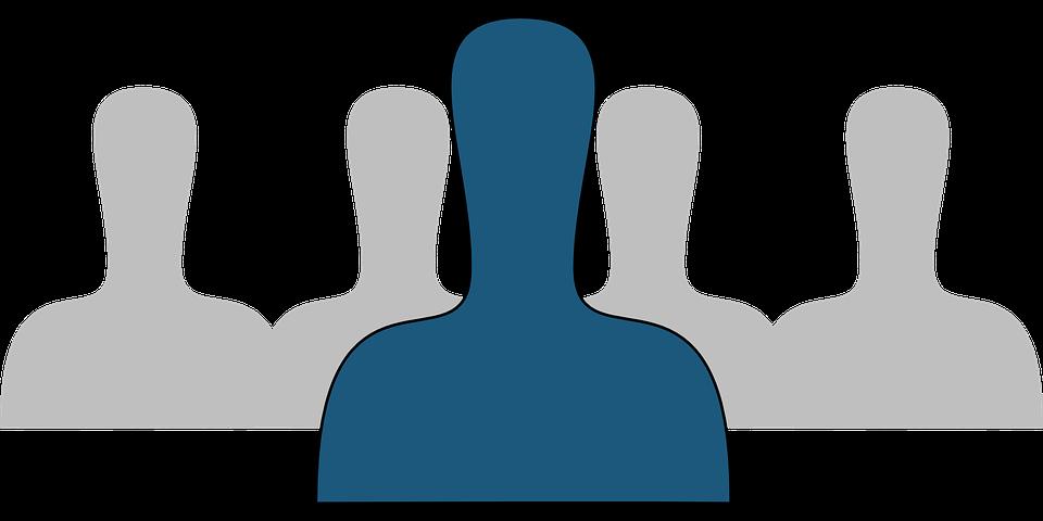 Group, People, Isolation, Isolated, Single, Individual