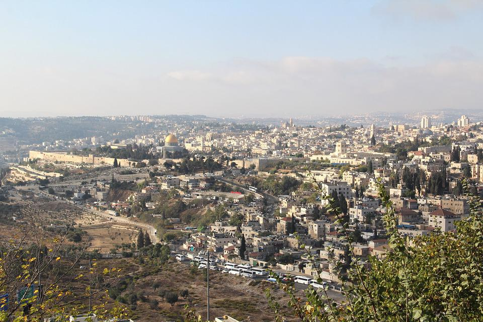 City, City Image, Israel, Jerusalem, Scopus Mountain