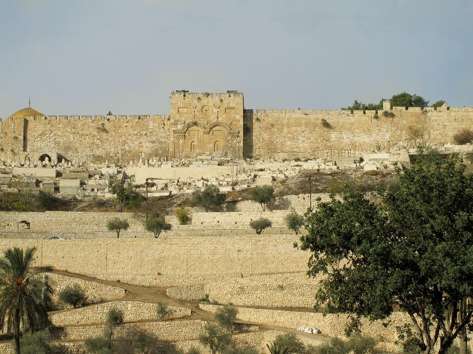 Jerusalem, Israel, City, Holy City, City Wall, Wall