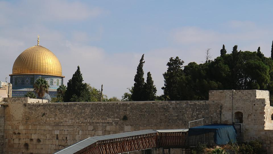 Dome Of The Rock, Israel, Dome, Temple Mount