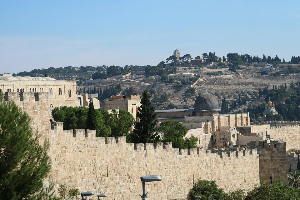 City Wall, Jerusalem, Israel, Defensive Wall