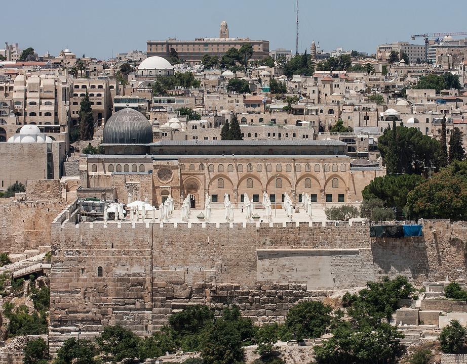 Al-aqsa Mosque, Jerusalem, Mosque, Israel, Temple