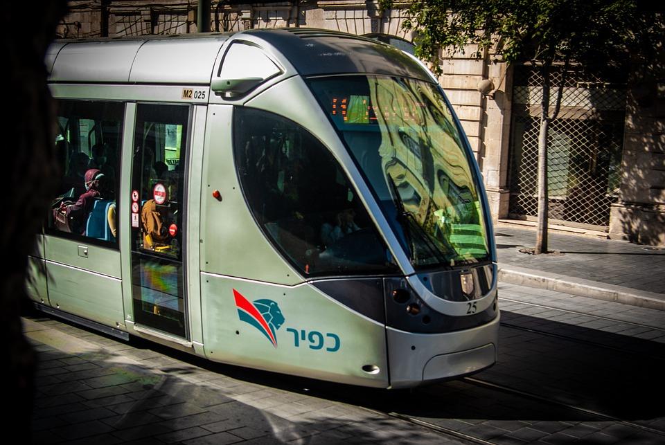 Light Rail, Train, Jerusalem, Israel, Jaffa, Travel