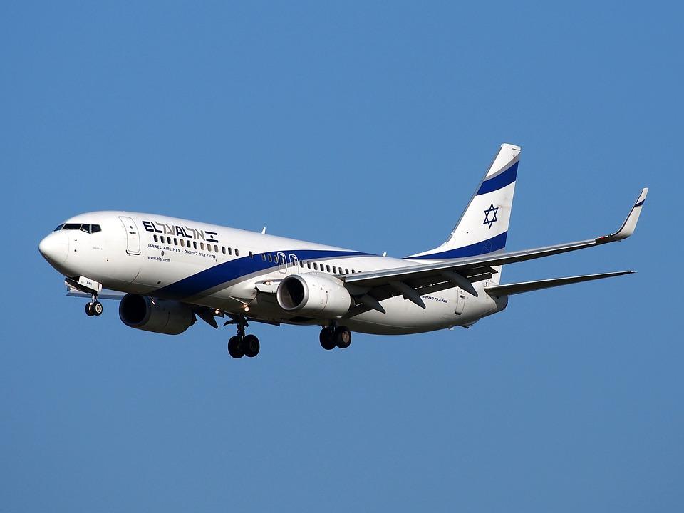 Boeing 737, Israeli Airlines, Take Off, Flight
