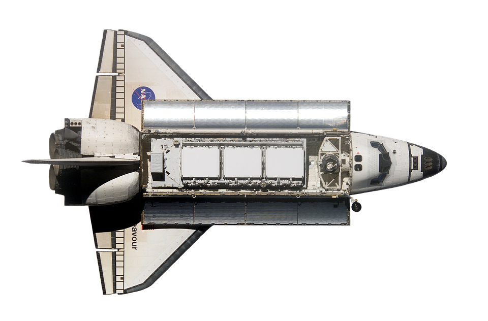 Space Shuttle, Endeavour, Top, Iss