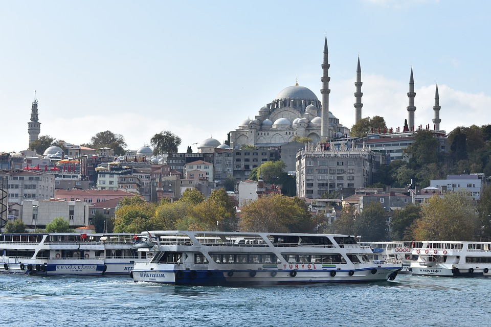 Golden Horn, Istanbul, Asia, Europe, River, Travel, Sea