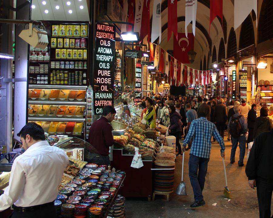Market, Bazaar, Turkey, Istanbul, Buy, Sell, Trade